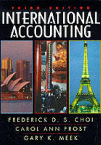 9780132607612: International Accounting (3rd Edition)
