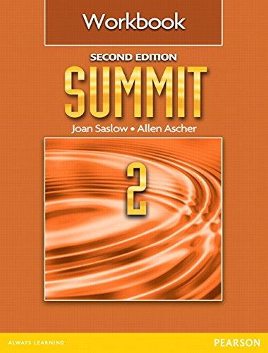 9780132607988: Summit 2 Workbook