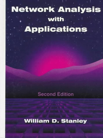 9780132609104: Network Analysis With Applications