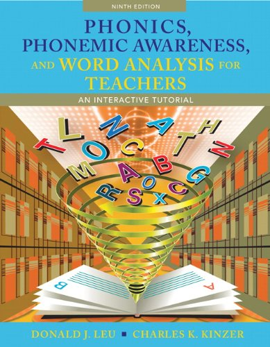9780132609647: Phonics, Phonemic Awareness, and Word Analysis for Teachers: An Interactive Tutorial (9th Edition)