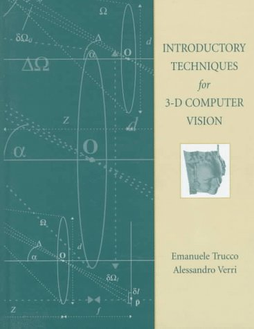 9780132611084: Introductory Techniques for 3-D Computer Vision