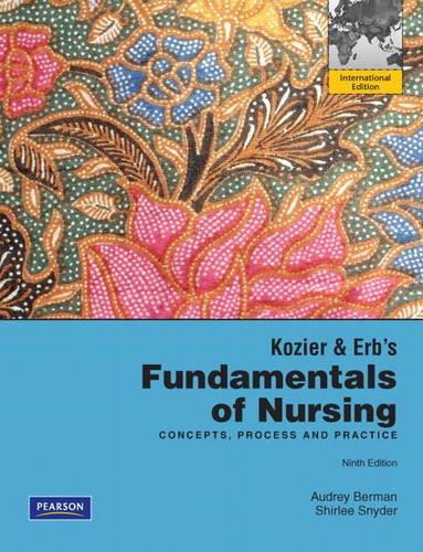 9780132611374: Kozier & Erb's Fundamentals of Nursing:International Edition