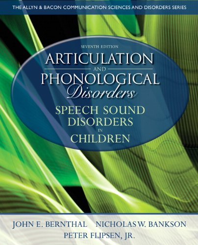 9780132612630: Articulation and Phonological Disorders: Speech Sound Disorders in Children