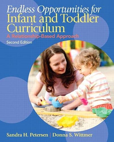 9780132613125: Endless Opportunities for Infant and Toddler Curriculum: A Relationship-Based Approach (2nd Edition)