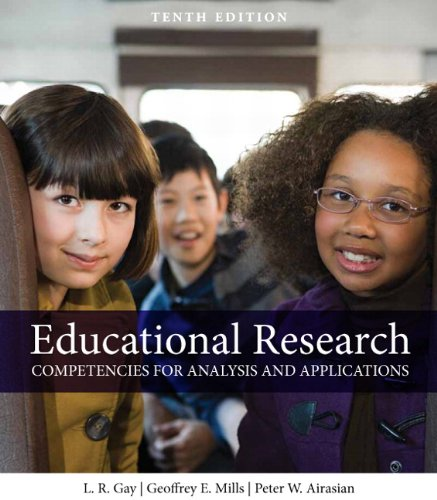 9780132613170: Educational Research: Competencies for Analysis and Applications (10th Edition)