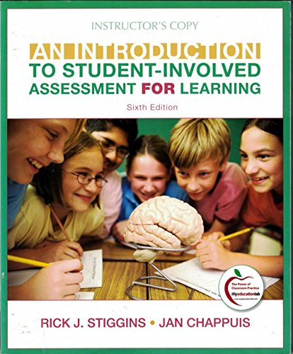 9780132613583: An Introduction to Student Involved Assessment for Learning (Instructor's Edition), sixth edition