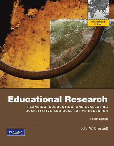 9780132613941: Educational Research: Planning, Conducting, and Evaluating Quantitative and Qualitative Research: International Edition