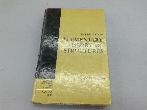 9780132615457: Elementary Theory of Structures (Prentice-Hall international series in dynamics)