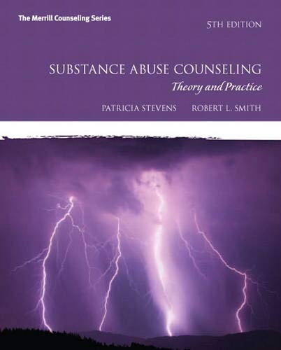 9780132615648: Substance Abuse Counseling: Theory and Practice (5th Edition) (Merrill Counseling)