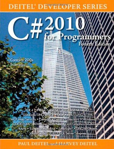 9780132618205: C# 2010 for Programmers (Deitel Developer)