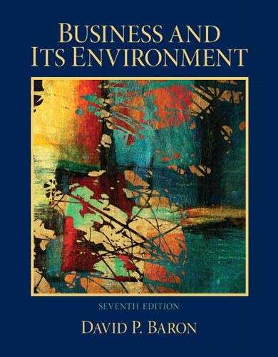 9780132620550: Business and Its Environment (7th Edition)