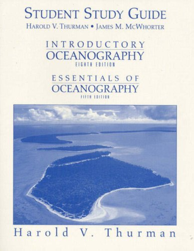 9780132620727: Introductory Oceanography: Essentials of Oceanography