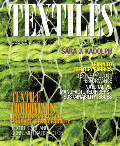 9780132620826: Textiles: Basics (Fashion Series)