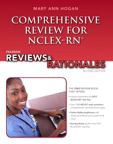 9780132621076: Pearson Reviews & Rationales: Comprehensive Review for NCLEX-RN (2nd Edition) (MyNursingReviews Series)