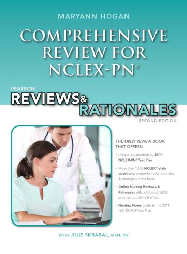 9780132621410: Pearson Reviews & Rationales: Comprehensive Review for NCLEX-PN (Prentice Hall Nursing Reviews & Rationales)