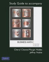 9780132621922: Business Mathematics with Study Guide and MyMathLab/MyStatLab (9th Edition)