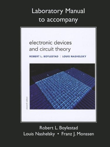 9780132622455: Lab Manual for Electronic Devices and Circuit Theory