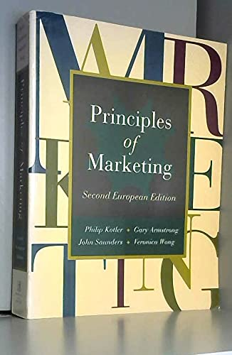 9780132622547: Principles of Marketing: European Edition