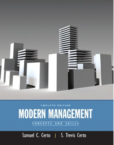 Modern Management: Concepts and Skills Plus MyManagementLab with Pearson eText -- Access Card ...