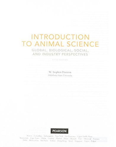 9780132624152: Introduction to Animal Science, Student Value Edition