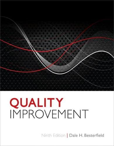 Quality Improvement (9th Edition): Besterfield Ph.D. P.E.,