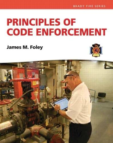 9780132625913: Principles of Code Enforcement (Brady Fire)