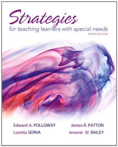 Strategies for Teaching Learners with Special Needs: Polloway, Edward A.;