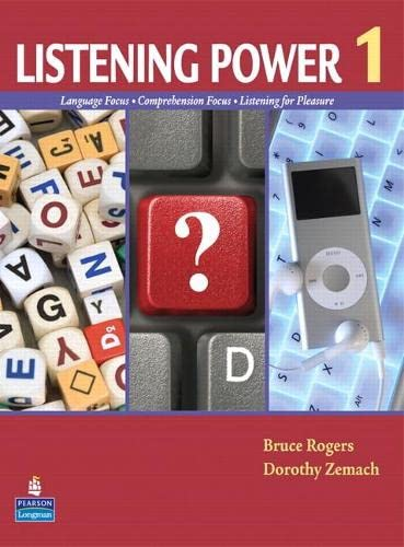 9780132626491: Listening Power 1 [With Map]