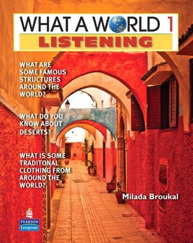 9780132626538: What a World Listening, Level 1: Amazing Stories from Around the Globe, 2nd Edition (Book & CD)