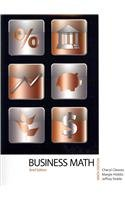 9780132626828: Business Mathematics, Brief Edition with MyMathLab/MyStatLab and Study Guide (9th Edition)