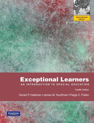 9780132626996: Exceptional Learners: An Introduction to Special Education