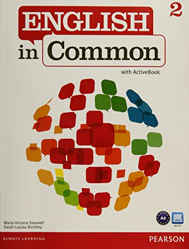 9780132627252: English in Common 2 with ActiveBook