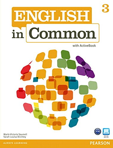 9780132627276: English in Common 3 with ActiveBook