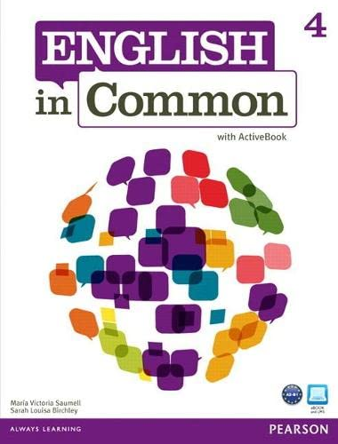 9780132627283: English in Common 4 with ActiveBook