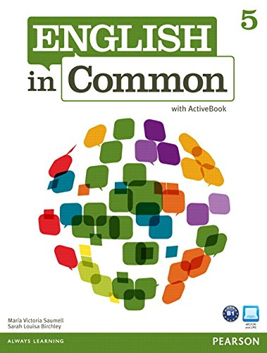 9780132627290: English in Common 5 with ActiveBook