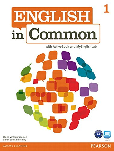 9780132627375: English in Common 1 with ActiveBook and MyEnglishLab