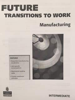 9780132628563: Manufacturing Intemediate