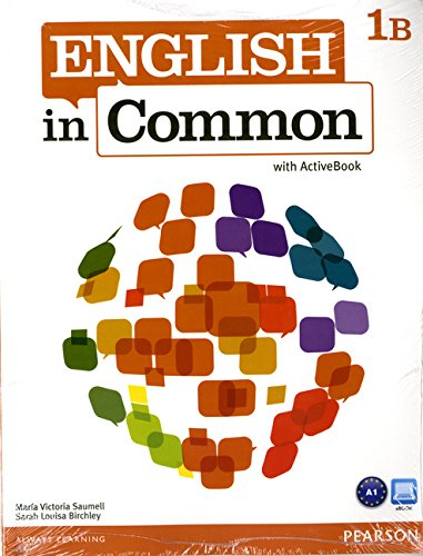 English in Common 1B Split Format: Paperback: Saumell, Maria Victoria^Birchley,
