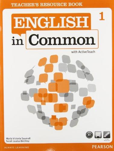 9780132628655: ENGLISH IN COMMON 1 TEACHERS RESOURCE BOOK