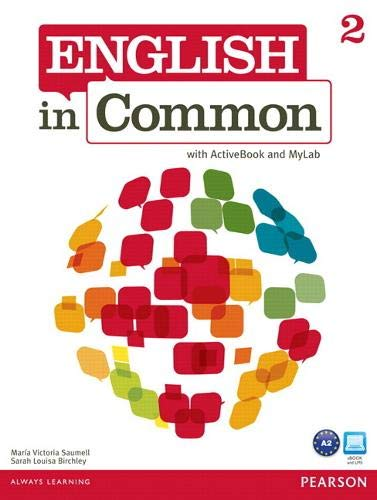 9780132628679: English in Common 2 with ActiveBook and MyEnglishLab: 2