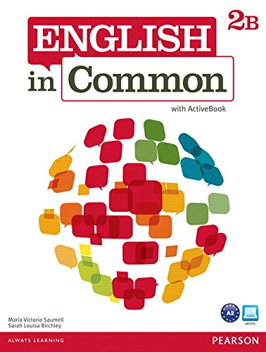 9780132628693: English in Common 2b Split: Student Book with Activebook and Workbook