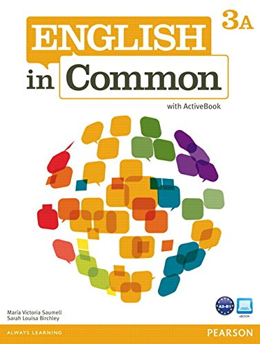 9780132628754: English in Common 3a Split: Student Book with Activebook and Workbook