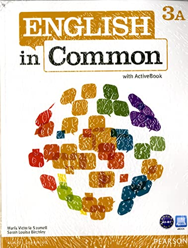 9780132628761: English in Common 3A Split: Student Book with ActiveBook and Workbook and MyEnglishLab