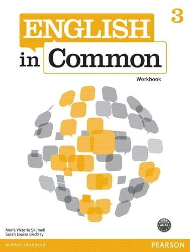 9780132628808: English in Common 3 Workbook