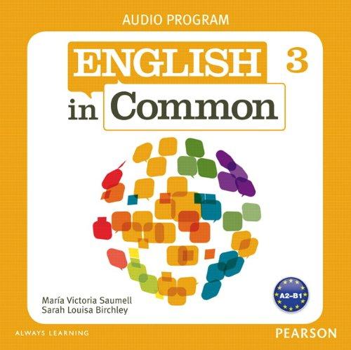 9780132628860: English in Common 3 Audio Program (CDs)