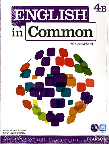 9780132628938: English in Common 4B Split: Student Book with ActiveBook and Workbook and MyLab English