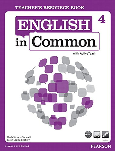 9780132628952: Teacher's Resource Book for English in Common 4 with Active Teach DVD (English in Common)