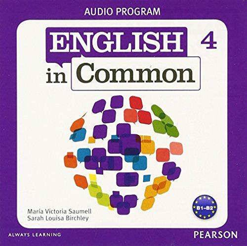 9780132628969: English in Common 4 Audio Program