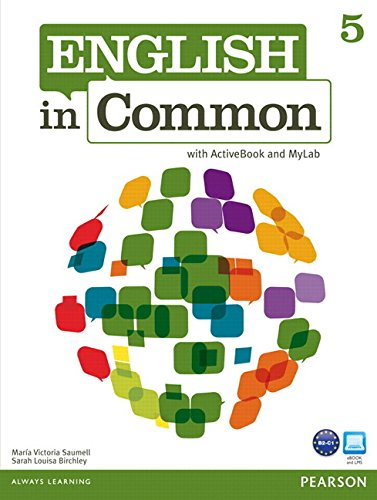 9780132628976: English in Common 5 with Activebook and Myenglishlab