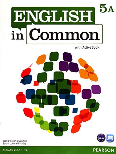 9780132628983: English in Common 5A Split: Student Book with ActiveBook and Workbook